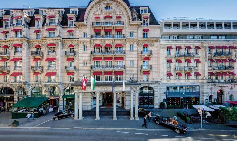 SPA Weekend в одном из самых знаменитых отелей Швейцарии Lausanne Palace