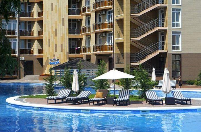 Новая гостиница HELIOPARK Aqua Resort открылась в Сукко