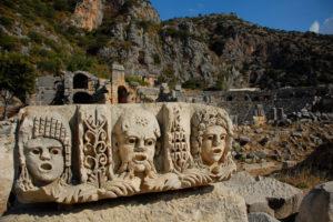 древний город под анталией