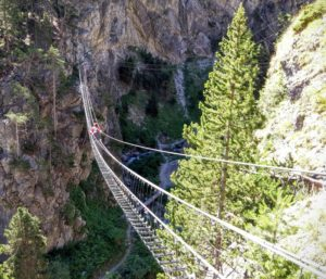 италия подвесной мост