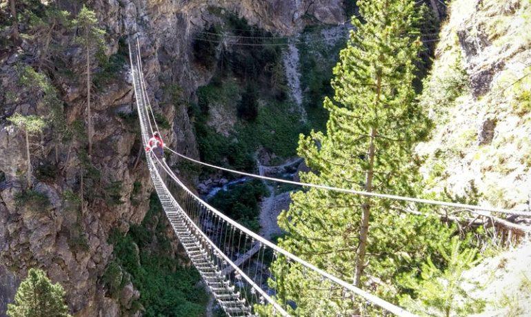 В Италии теперь есть и самый длинный, и самый высокий подвесной мост