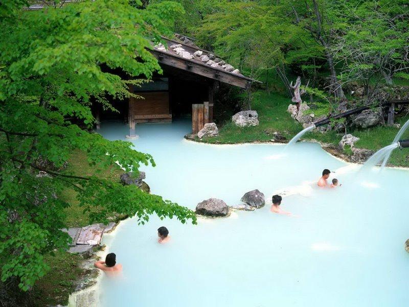 Легендарные горячие источники Японии