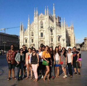 Leonardo Da Vinci, Милан - изучение итальянского языка