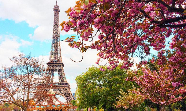 Встречаем весну в Париже