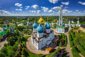Goldaen Ring Cities Russia