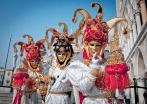 Венеция Италия Карнавал