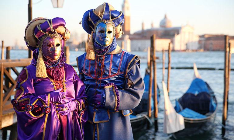 До начала Венецианского карнавала осталось 10 дней