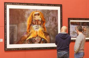 """Выставка """"Стив Маккарри. За чтением"""" в Турине"""