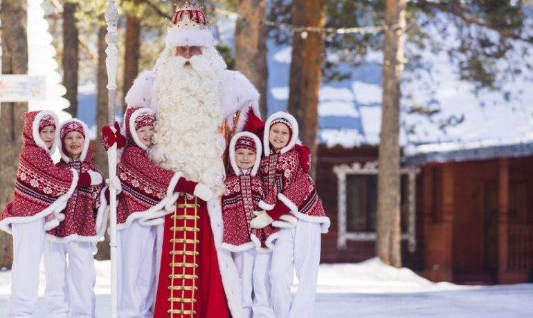 """Зимний экспресс """"В гости к Деду Морозу"""" 2021"""