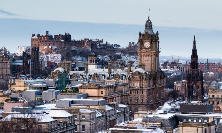 Новый Год в Эдинбурге