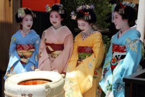 Кимоно в Японии