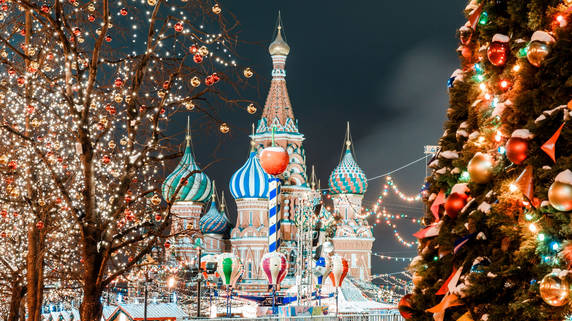 New Year Tour to Moscow