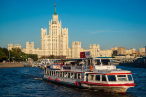 Moscow River Boat Cruise