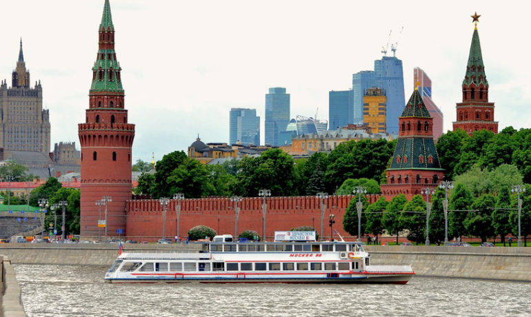 Moscow River Cruise with Guide
