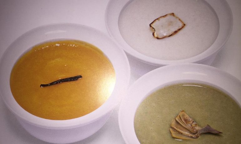 Суп-пюре из тыквы с ароматом душистой ванили