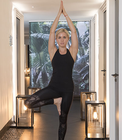 Онлайн йога тренировки в отеле Metropole Monte-Carlo